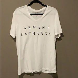 Armani Exchange V-neck Tee